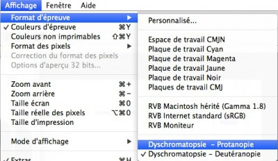 photoshop daltonisme accessibilite